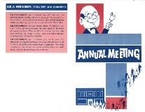 1963 Annual Meeting booklet cover