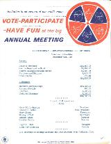1964 Annual Meeting invitation (back)