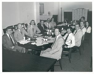 Early 1970s board meeting