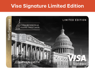 116th Congress Signature Vis