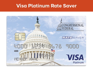 Visa Platinum Rate Saver